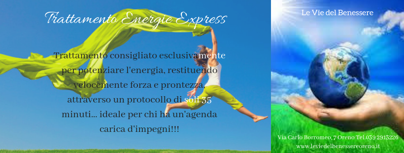 Trattamento energie express